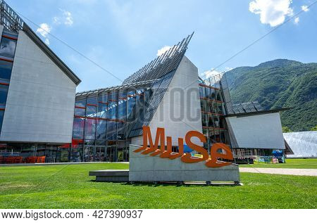 Trento, Italy, June 2021. A Particular Point Of View For The Science Museum: The