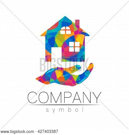 Company Logo Vector House Icon For Branding Real Estate Symbol Building And Apartment Rent Concept S