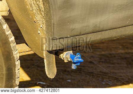Disposal Of Grey Gray Black Waste Water And Sewage From Camper Rv Caravan