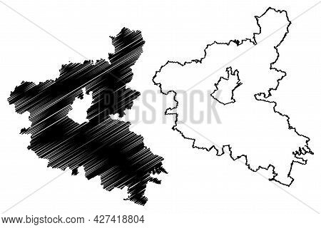 Schweinfurt District (federal Republic Of Germany, Rural District Lower Franconia, Free State Of Bav