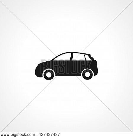 Car Icon. Car Isolated Simple Vector Icon.