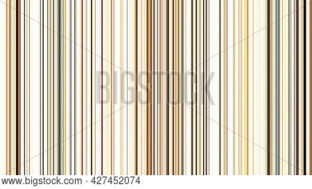 Abstract Vertical Brown And Beige Glowing Lines, Seamless Loop. Animation. Parallel Shining Lines Mo