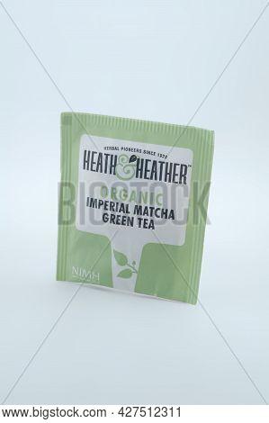 Manila, Ph - July 22 - Heath And Heather Organic Imperial Matcha Green Tea On July 22, 2021 In Manil