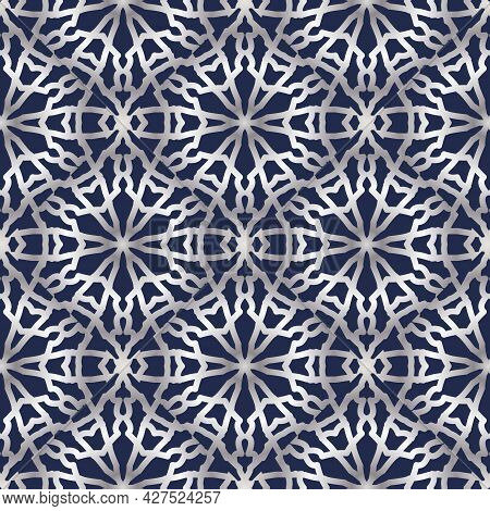 Ornamental Pattern.the Pattern Is In The Arabic Style.