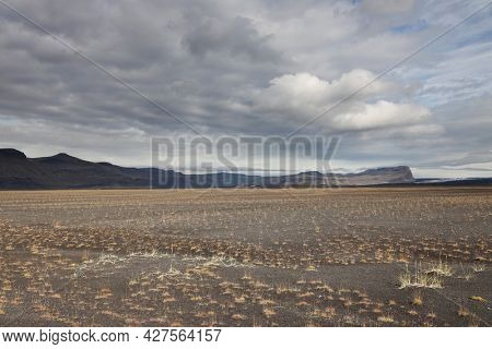Volcanic landscape in Skaftafell Natural Park, Iceland, Europe