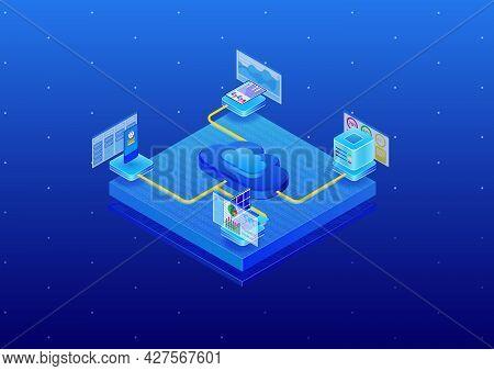 Isometriccloud5Blue