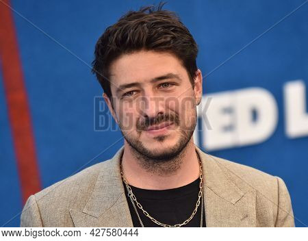 LOS ANGELES - JUL 15: Marcus Mumford arrives for the ''Ted Lasso' Season 2 Premiere on July 15, 2021 in West Hollywood, CA