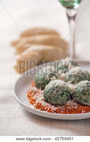 Spinach Gnocchies