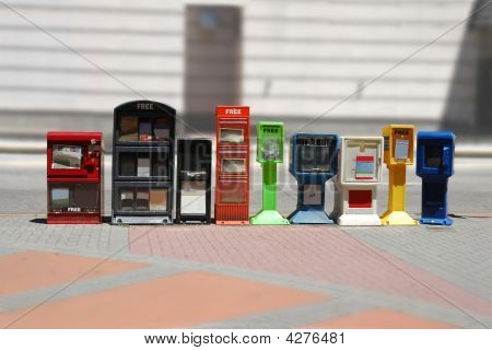 Newspaper Dispensers