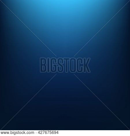 Abstract Blue Gradient Background. Vector Illustration. Eps10