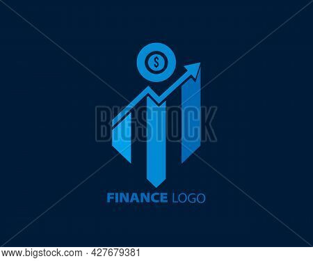 Finance Logo Icon, Business Logo, Banking, Accounting, Financial Credit, Financial Advisor Design Te