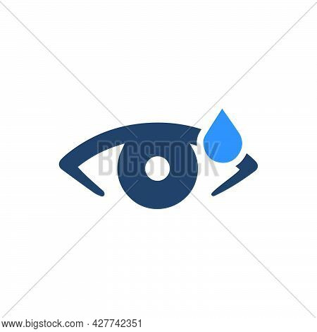 Ophthalmology Icon. Meticulously Designed Vector Eps File.