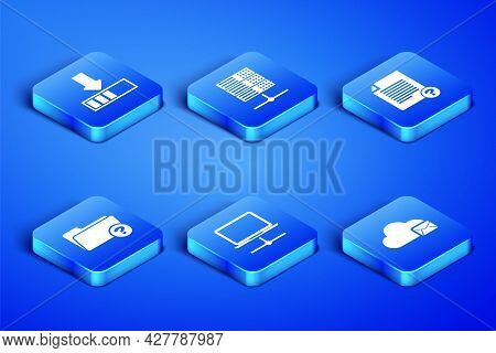 Set Cloud Mail Server, Loading, Computer Network, Unknown Directory, Server, Data, Web Hosting And D