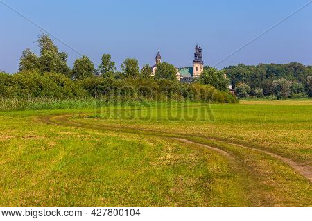 Lad Abbey Is A Former Cistercians Monastery In Lad - Village, Poland. Lad Abbey Is Designated An Off