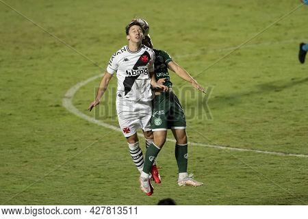 Rio, Brazil - July 24, 2021: Leo Jaba Player In Match Between Vasco 4 Vs 1 Guarani By 14th Round Of