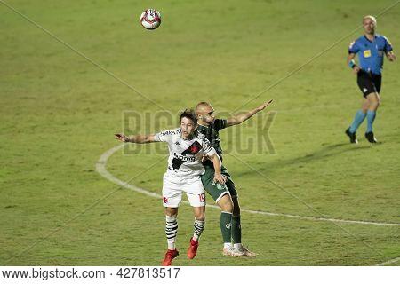Rio, Brazil - July 24, 2021: Matias Galarza Player In Match Between Vasco 4 Vs 1 Guarani By 14th Rou