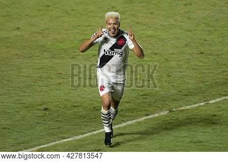 Rio, Brazil - July 24, 2021: Marquinhos Gabriel Player In Match Between Vasco 4 Vs 1 Guarani By 14th