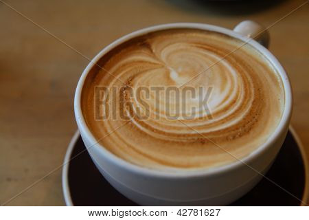 Frothy Cappuccino at Breakfast - 1