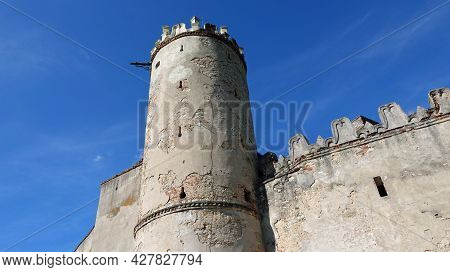 View Of The Tower Of Boskovice Castle In The Czech Republic