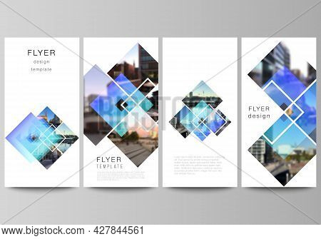 The Minimalistic Vector Illustration Of The Editable Layout Of Flyer, Banner Design Templates. Creat
