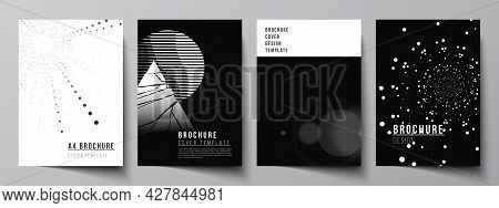 Vector Layout Of A4 Cover Design Templates For Brochure, Flyer Layout, Booklet, Cover Design, Book D