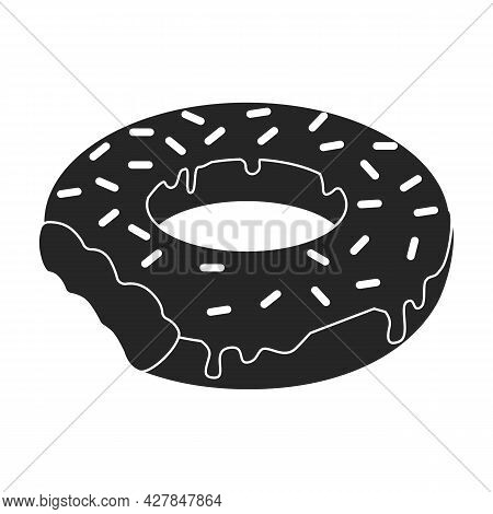 Inflatable Mattress Vector Icon.black Vector Icon Isolated On White Background Inflatable Mattress.