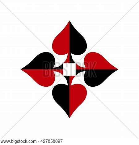 Illustration Vector Graphic Of Four Spades Logo