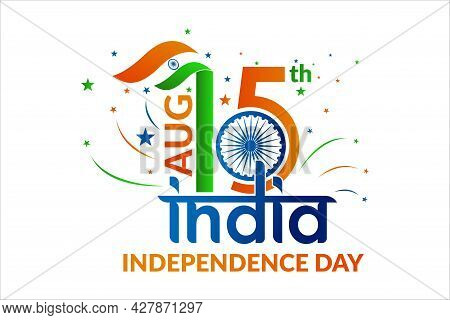 Happy Independence Day India, 15th August India Independence Day Flyer, Poster, Banner Design. Vecto