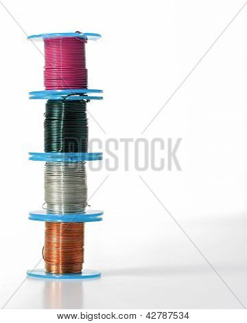 Jewelry Wire On Spools