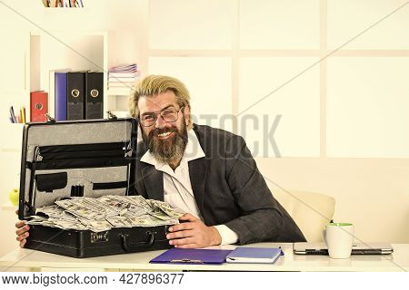He Loves Money. More Sales Without Extensive Spending. Cash Turnover. Company Income Fraud. Business