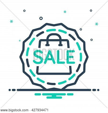 Mix Icon For Sale Discount Tag Label Sale-badge Tomcat Insignia Male-cat Offer Sticker