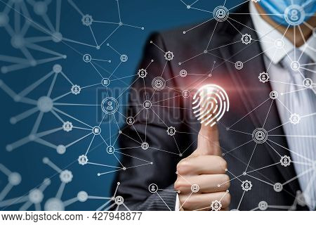The Concept Of Decoding The Network Using A Fingerprint.