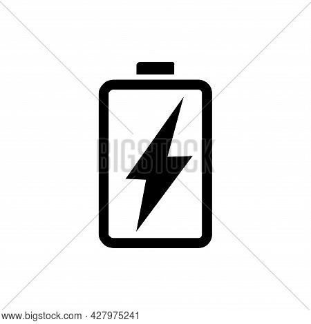 Battery Icon . Simple Battery , Battery Logo. Battery Icon Sign. Battery Icon Vector, Battery Icon S