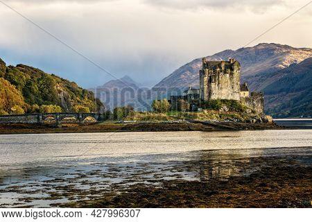 Eilean Donan castle in the highlands of Scotland UK