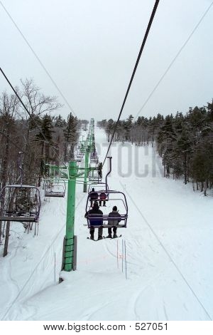 Riding The Chairlift