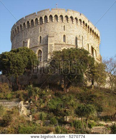 der Bergfried von Windsor castle