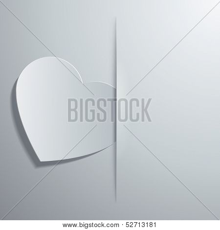 Vector illustration of the symbolic images of the heart