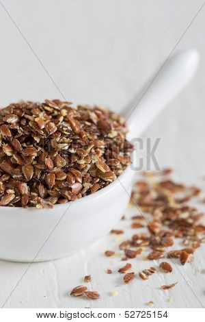 Closeup Of Flax