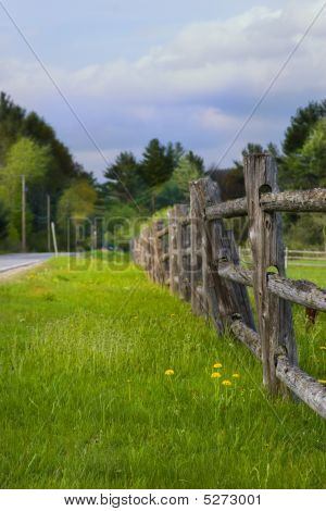 Country Farm Fence
