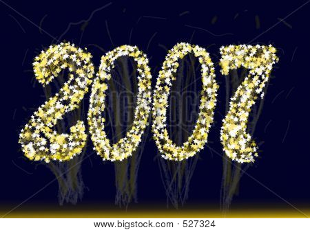 2007 New Year Fireworks Calendar