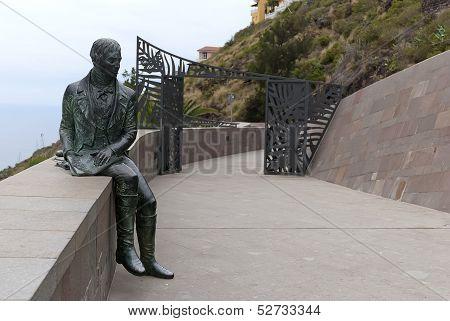Monument of Alexander Humboldt. Orotava. Tenerife