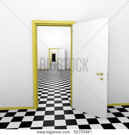 Infinite Doors