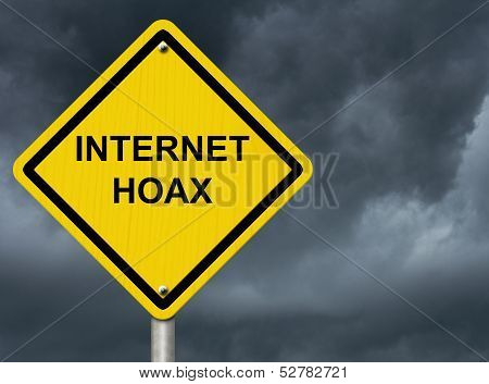 Internet Hoax Warning