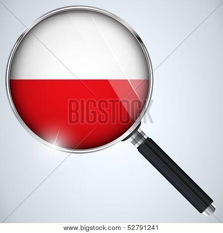 Nsa Usa Government Spy Program Country Poland