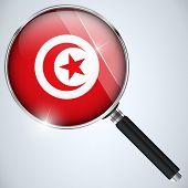 Vector - NSA USA Government Spy Program Country Tunisia poster