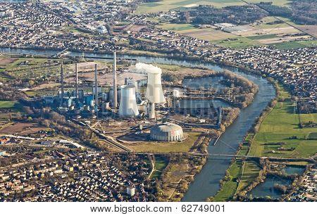 Grosskrotzenburg Power Station, Main River