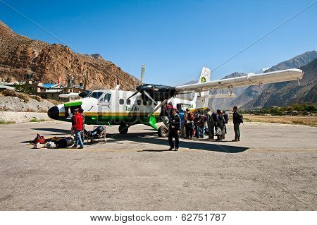 Airport Jomsom, Nepal