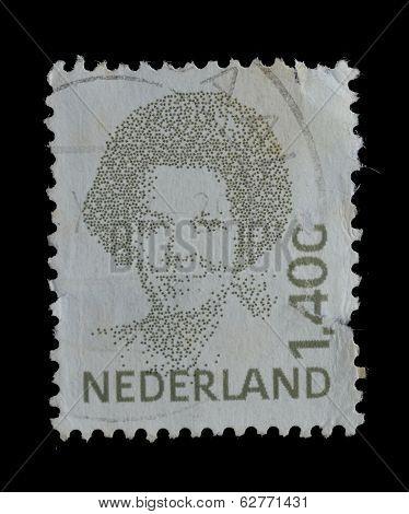 Netherlands Postage Stamp