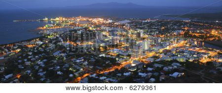 Townsville Aerial Night 01