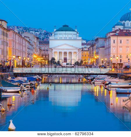 Church of St. Antonio Thaumaturgo, Trieste, Italy.